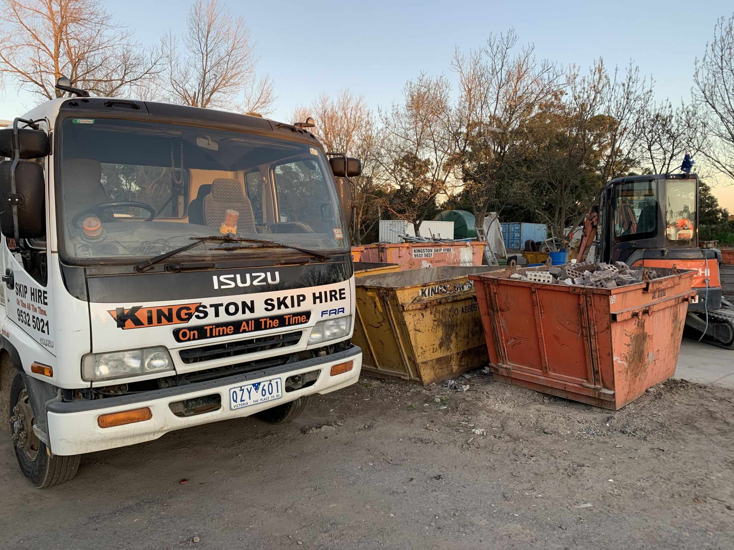 Kingston_skip_hire_yard